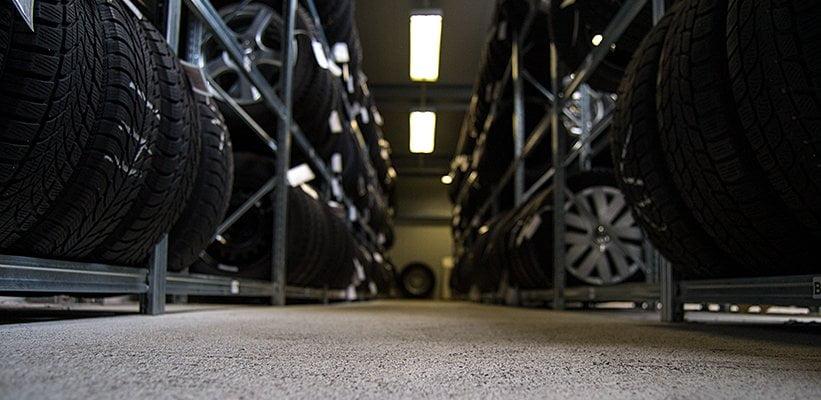 KFZ-Hantschel Service Reifeneinlagerung